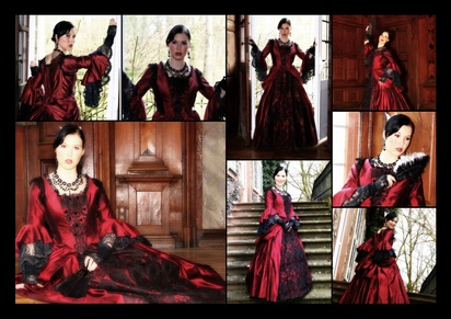 Mittelalterkleid als Faschingskostüm
